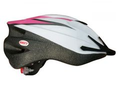 Progear Pink/White Swift Bicycle Helmet L/XL