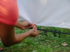 The experts at HGTV show you have to make your very own outdoor movie screen.