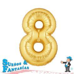 "Números Microfoil. Gold. Pulgadas: 7"", 14"", 38"", 39"" 41-42""."