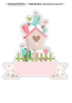 Discover the coolest images of Bird Party, Baby Shawer, Bird Theme, Print And Cut, Cute Drawings, Planner Stickers, Cake Toppers, Decoupage, Diy And Crafts