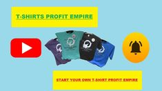 We Are Providing You Training videos, Done For You Products, Templates, Designs, T-Shirt Profit Empire shows you everything you need to know about starting your own profitable t-shirt business from the ground up.    #tshirts #tshirt #fashion #tshirtdesign #hoodies #tees #clothing #shirts #tshirtshop #apparel #style #tshirtprinting #tshirtstore #design #love #moda #art #streetwear #tshirtslovers #shirt #tee #clothingbrand #clothes #customshirts #mensfashion #screenprinting #onlineshopping Building An Empire, Training Videos, Screenprinting, Custom Shirts, Need To Know, Streetwear, Mens Fashion, Templates, Hoodies