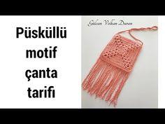 YouTube Crochet Purse Patterns, Crochet Purses, Crochet Hats, Purses And Bags, Slim, Youtube, Cotton, Macrame, Fashion