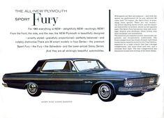 1963 Plymouth Sport Fury Two Door Hardtop