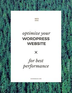 Optimize Your Website For Best Performance http://83oranges.com/optimize-your-website-for-best-performance/ #design #art #graphicdesign