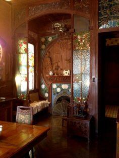 Interiores Casa Navas Chimenea