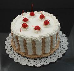 Fake Food Ice Cream Cake