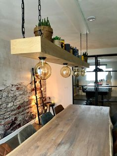 Cozy Home Decorating, Small Villa, Sweet Home, Vintage Industrial Lighting, Wooden Decor, Modern House Design, Cozy House, Rustic Furniture, New Homes