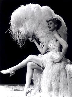Burlesque Dancer ? Looks a little like Lucille Ball?  Either way, Great Photo :-)