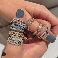 In love with these@shayjewelry#finejewelry #diamonds #lovegold #fashion #earcuff #jewelry #jewels #luxury #fashionista #lovegold #fashion #earcuff #jewelry #jewels #luxury #fashionista #jewelrydesign  #beverlyhills #amazing #couture #love #bracelets #rosegold #design #ringparty #rosegold #gems #rings #style