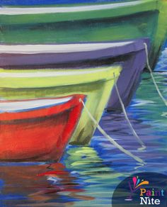Paint Nite Easternshore | Harris Crab House