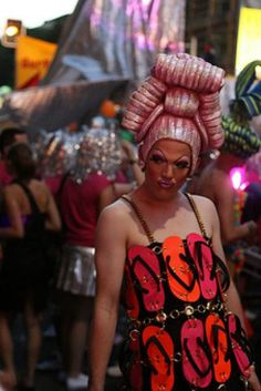 Sydney Mardi Gras is more than a gay party and covers serious issues too.