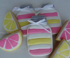 Pink Lemonade Cupcake-in-a-Jar Cookies