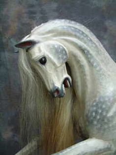 Phar Lapp horse head by Legends Rocking Horses.  Simply the most beautiful rocking horses I've seen.