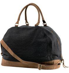weekend bag with detachable clasps, heavy weave so pretty sturdy, beach bag, trip bag Moonshyne Weekend Bag | RVCA