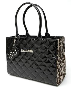 Lucky Me Tote in Black