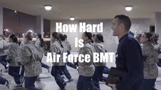 Air Force bmt training can be challenging, but how challenging? Air Force basic training articles and Air Force training posts are helpful in preparing for bmt. Find out what you're getting into before you go. Military Workout, Military Training, Military Humor, Air Force Women, Us Air Force, Military Women, Military Life, Airforce Bmt, Air Force Quotes