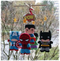Items similar to baby mobile ceiling mobile super heroes mobile superhero baby shower gift heroes mobile crib mobile hanging mobile nursery mobile boy can on Etsy Baby Mobile Felt, Baby Crib Mobile, Unique Baby Cribs, Superhero Baby Shower, Hanging Mobile, Felt Dolls, Captain America, Baby Shower Gifts, Hulk