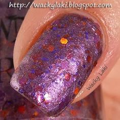 "@Tawdry Terrier ""Poke-a-Nose Purple"" - Check out swatches and a #review of @Tawdry Terrier polishes by @Wacky Laki: http://wackylaki.blogspot.com/2013/09/tawdry-terrier-autumn-in-barkshires.html.  These polishes are now available at http://www.etsy.com/shop/TawdryTerrier #nailpolish #indienailpolish #tawdryterrier #wackylaki"