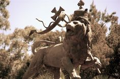 Lion of Judah Statue, Addis Ababa