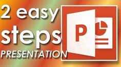Wie man in wenigen Minuten Powerpoint-Präsentation erstellen