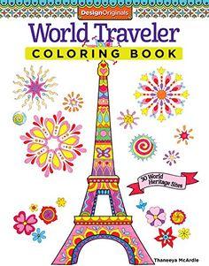 World Traveler Coloring Book: 30 World Heritage Sites (Design Originals) von Thaneeya McArdle http://www.amazon.de/dp/157421960X/ref=cm_sw_r_pi_dp_Ut54ub1072QG3