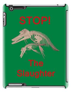 Stop The Slaughter, T Shirts & Hoodies. ipad & iphone cases http://www.redbubble.com/people/kempson/works/11512036-stop-the-slaughter-t-shirts-and-hoodies-ipad-and-iphone-cases?p=ipad-case