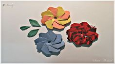 How to make origami flower