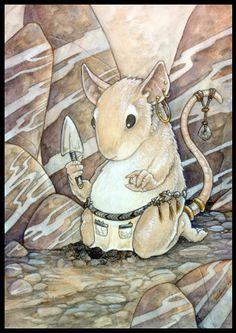 Earth Mouse by Ursula Vemon---anthro-art.tumbir.com