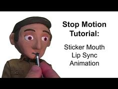 Stop Motion Tutorial:  Sticker Mouth Lip Sync Animation - YouTube