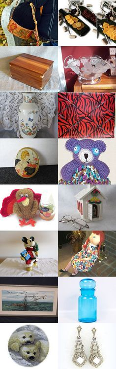 Tuesday Finds from TeamvintageUSA by Ginger Duckett on Etsy--Pinned with TreasuryPin.com
