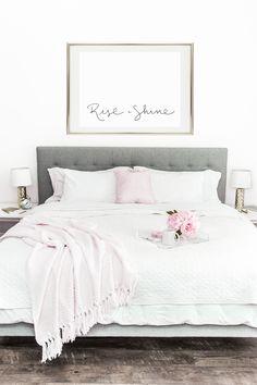 Rise and Shine Printable Wall Art