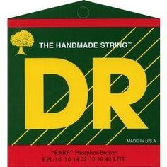 "DR Strings Rare - Phosphor Bronze AcousticHex Core 10-48 by DR Strings. $7.47. The RARE?  phosphor bronze acoustic strings are a departure from the standard bronze string currently available... possessing a new, different, and stronger ""voice"". When DR set out to produce a string with new characteristics, the goal was to redesign contemporary thinking about what phosphor bronze can do for a good acoustic guitar. Hand-carved arch-tops and dreadnaughts and good steel string ..."