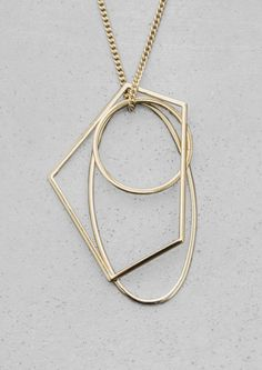 & Other Stories | Geometric Metal Necklace