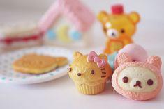 リラックマのカップケーキ Rilakkuma  Cupcakes