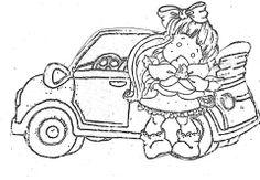 magnolia tilda voiture