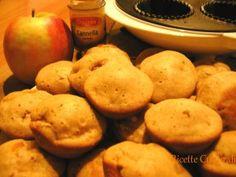 Cupcakes #mela e #cannella: un dolcetto leggero ma goloso, ricco di #frutta e coi sapori dell'inverno | @Roberta Tocchio