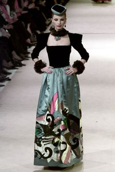 Saint Laurent Spring 2002 Couture - Collection - Gallery - Style.com