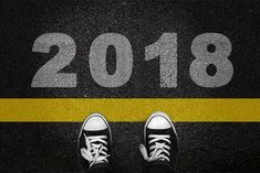 2018 New Year Stylish Wallpaper Sneakers