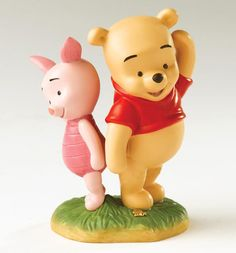 POOH & FRIENDS - JUST RIGHT FOR EACH OTHER - BABY POOH & BABY PIGLET