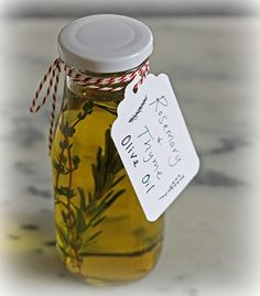 DIY Flavored Cooking Oils And 4 Homemade Gift Ideas - DIY Gift World