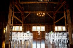 The brand new Manor Barn! Circa 1794, it is perfect for your romantic and intimate ceremony. This is the view from the front entrance.