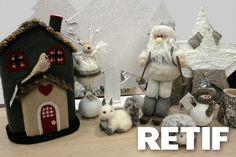 Crea tu #escaparate con #Retif  #decoración #Navidad