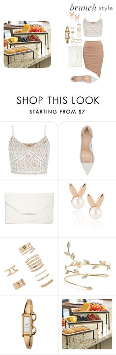 """brunch"" by thatsmesha on Polyvore featuring interior, interiors, interior design, home, home decor, interior decorating, New Look, Gianvito Rossi, Style & Co. and Aamaya by priyanka"