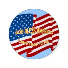 God Bless America Sticker