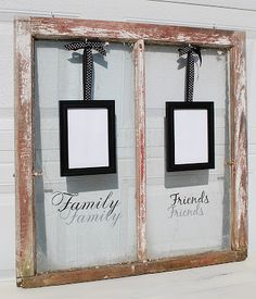 I like this idea as a gift, like a housewarming present or wedding gift.  It's sweet and easy for the recipient to personalize themselves.