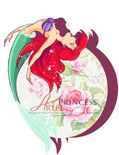 : Princess Ariel : by ~selinmarsou on deviantART