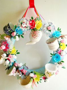 10 Pretty Ideas For How To Upcycle Tea Cups