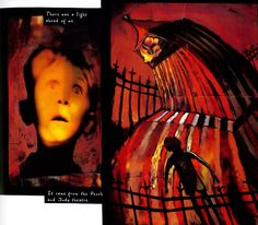 At'sawaytodoit! Punch by Neil Gaiman and Dave McKean Dave Mckean, Punch And Judy, Neil Gaiman, Manga Comics, Steampunk, Artist, Movie Posters, Painting, Image