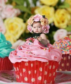 https://www.facebook.com/leovandesign   #baby #socute #girl #cupcake