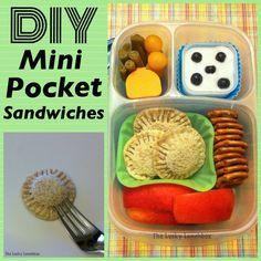 How to make DIY Mini Pocket Sandwiches!